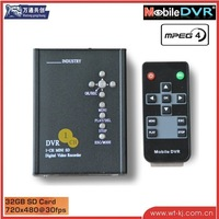 SD Card Car Recorder 1-ch Car DVR driving recorder HD D1 single upgrade