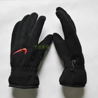 Authentic men's winter gloves, men and thick warm double gloves, outdoor gloves male Korean plus velvet
