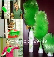 Electric Feather Duster Spining Duster Home Cleaning Device Rotating Dust Free Shipping()