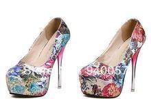 2014 frete grátis moda modelos explosão de rosas baratos boca rasa impermeável Taiwan sapatos de salto alto por atacado(China (Mainland))