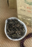 2013Years Chinese Old Puer Tea, 100g Raw Pu'er,Excellent Quality Puerh Tea,Nourishing the stomach to lose weight Free Shipping