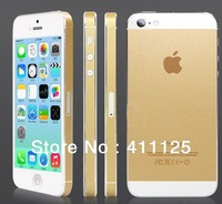 Tyrant Gold Full Body Skin Cover Stickers For iPhone 5 5s New Design 5pcs/lot For Sample Free Shipping