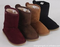 Free shipping winter children cotton-padded shoes snow boots for children