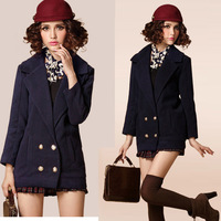good sale female Woolen outerwear 3129  free shipping