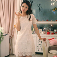 free shipping One-piece dress 3082  clothes
