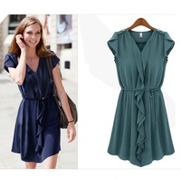 free shipping One-piece dress 460  clothes