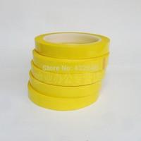 Free Shipping.1pcs/lot.Pet mylar tape deep yellow transformer tape high temperature tape 2cm*66m.2.5cm*66m.3cm*66m