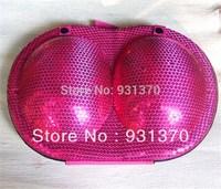 NEW Arrival  travel underwear storage zipper type bow XL bra bag luminous underwear storage  box