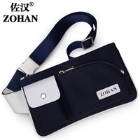 Male waist pack fashion sports bag chest pack female male package nylon bag casual bag