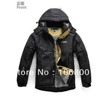 Fashion shipping Winter Men's cotton padded jacket coat theickening hoodied sport coat, male warm padded outwear