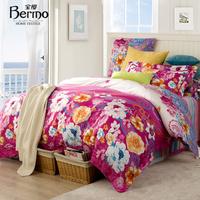Home textile bedding 1.5 1.8 meters 100% cotton satin reactive print four piece set
