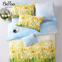 Mrg 100% textile cotton print four piece set bedding 1.5 1.8 bed