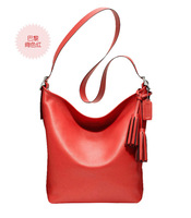 The single shoulder bag lady of leisure leather bag leather handbag wholesale oblique cross handbags fashion handbags