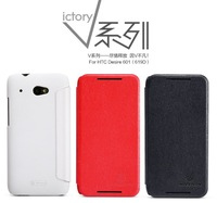 for htc desire 601 leather case flip cover