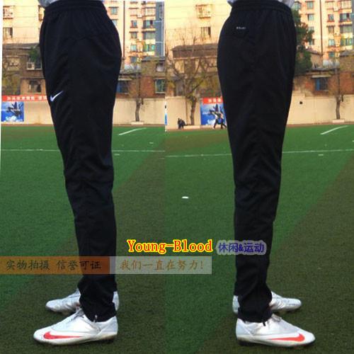 Men sports pants football pants legs soccer training pants calf thin ride pants trousers(China (Mainland))