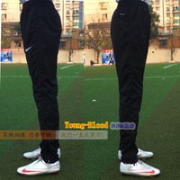 Men sports pants football pants legs soccer training pants calf thin ride pants trousers