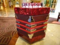 Hexagonal accordion 20 key button bandoneon violin qin package