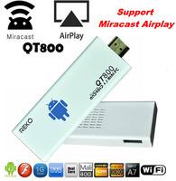 QT800 Dual-Core Android 4.2 1080P HD TV Box Mini PC w/ 1GB 4GB ROM/Wi-Fi/ HDMI/ TF/ Support DLNA WiFi Display Miracast Airplay
