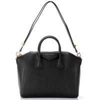 Famous brand bags, antigona large duffle bag black, Women Genuine leather handbags Fashion Brand Designer Shoulder Handbags