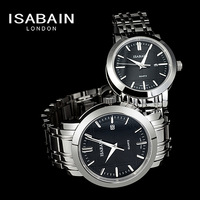 Trend isabain lovers watches stainless steel waterproof quartz watch