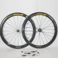 Free shipping Mcipollini road bike carbon Wheelset 3K weave wheels 50mm clincher/tubular wheels /bora two carbon wheels taiwan