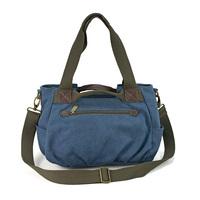 Free Shipping Vintage canvas bag one shoulder cross-body bag women's portable multi-purpose bag all-match bag female