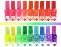 The series of 20 color 7ml Fluorescent Neon Luminous Nail Polish Glow in Dark Nail Varnish Nail Enamel Free shipping