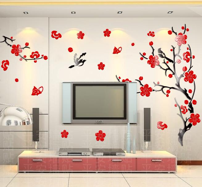 Ikea d coration murale promotion achetez des ikea for Autocollant mural ikea