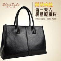 hot selling Location 8711 women's genuine leather handbag 2013 women's cowhide handbag  tote bags