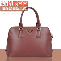 Location of the autumn and winter 2013 fashionable casual vintage one shoulder handbag cross-body women's genuine leather