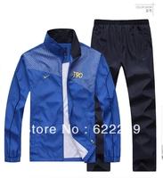 T90 Nk Brand Men Leisure Sports Suit Hoodie Men's long-sleeved  spring and autumn sports jogging jacket +pants set men