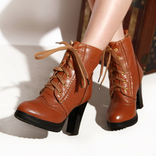 Free Shipping 2013 New Arrival Vogue Brand Ladies' Stilettos Platform Pumps Suede High Heel Women Fashion Shoes Ankle Boots(China (Mainland))