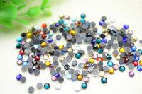 2.8mm Mixed Color DMC Hotfix Colour Crystal Rhinestones  1440 pcs