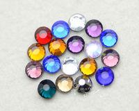 6.5mm Mixed Color DMC Hotfix Colour Crystal Rhinestones 288 pcs