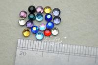 4mm Mixed Color DMC Hotfix Colour Crystal Rhinestones  1440 pcs