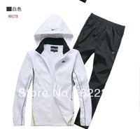 Free Shipping 2013 New Arrived Hoodies for Men Leisure Men's Sports Suit Jacket +Trousers Hoodies two pc set for men 2XL 3L4XL