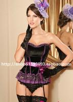 Sexy royal shaper lace decoration strap vest no shoulder tape shapewear slim waist abdomen drawing beauty care underwear