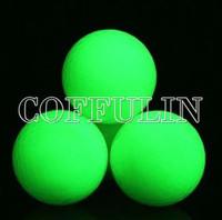 Flsorescence Balls Glow In Dark Golf Ball Absorb Sunlight Wholesale In Stock