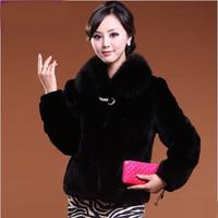 Free shipping Faux fur coat fur vest autumn new arrival sweater vest short