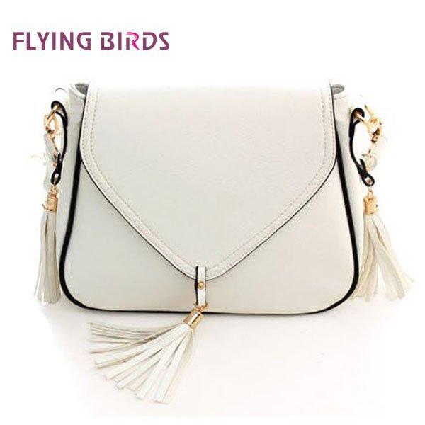 FLYING BIRDS 2012 Newest Free Shipping Summer Hot Fashion Ladies Tassel Shoulder Bag PU leather Women WQ0619(China (Mainland))