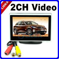 "New 4 "" Car TFT LCD Color Monitor Camera DVD VCR CCTV EMS Q-05"