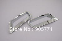 High Quality Chrome Front Fog Light Cover Lower Side Set for BMW X3 F25 free shipping