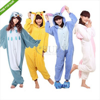 Animal Onesie KIGURUMI Pajamas Onesies Costumes Pyjamas Adult Unisex Sleepwear Suit S/M/L/XL Owl Unicorn Stitch Pikachu