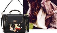 2013 new autumn and winter the most unusual national wind facial fashion handbags shoulder diagonal