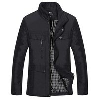 Septwolves 2013 men's clothing top slim business casual jacket medium-long wadded jacket outerwear