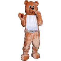 Free Shiping New Arrival Popular Animal Teddy Bear Adult Mascot Costume