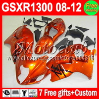 7gifts+NEW For ALL Gloss Orange SUZUKI Hayabusa GSXR1300 08 12 08 09 10 11 12 08 GSX-R1300  GSXR 1300 1391 GSX R1300 Fairings