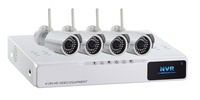 H.264 4 CH P2P PNP 720P HD NVR&720P WiFi IP Camera Kit CCTV Network Surveillance Camera System 4CH NVR Security System