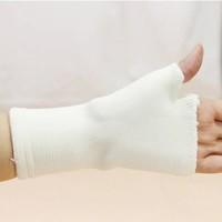 Outside sport wrist support gloves fitness gloves semi-finger tennis ball apologetics wrist length female