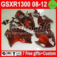 7Free gifts NEW Orange black For SUZUKI Hayabusa GSXR 1300 1645 GSX R1300  08 09 10 11 12 GSX-R1300 GSXR1300 Fairing